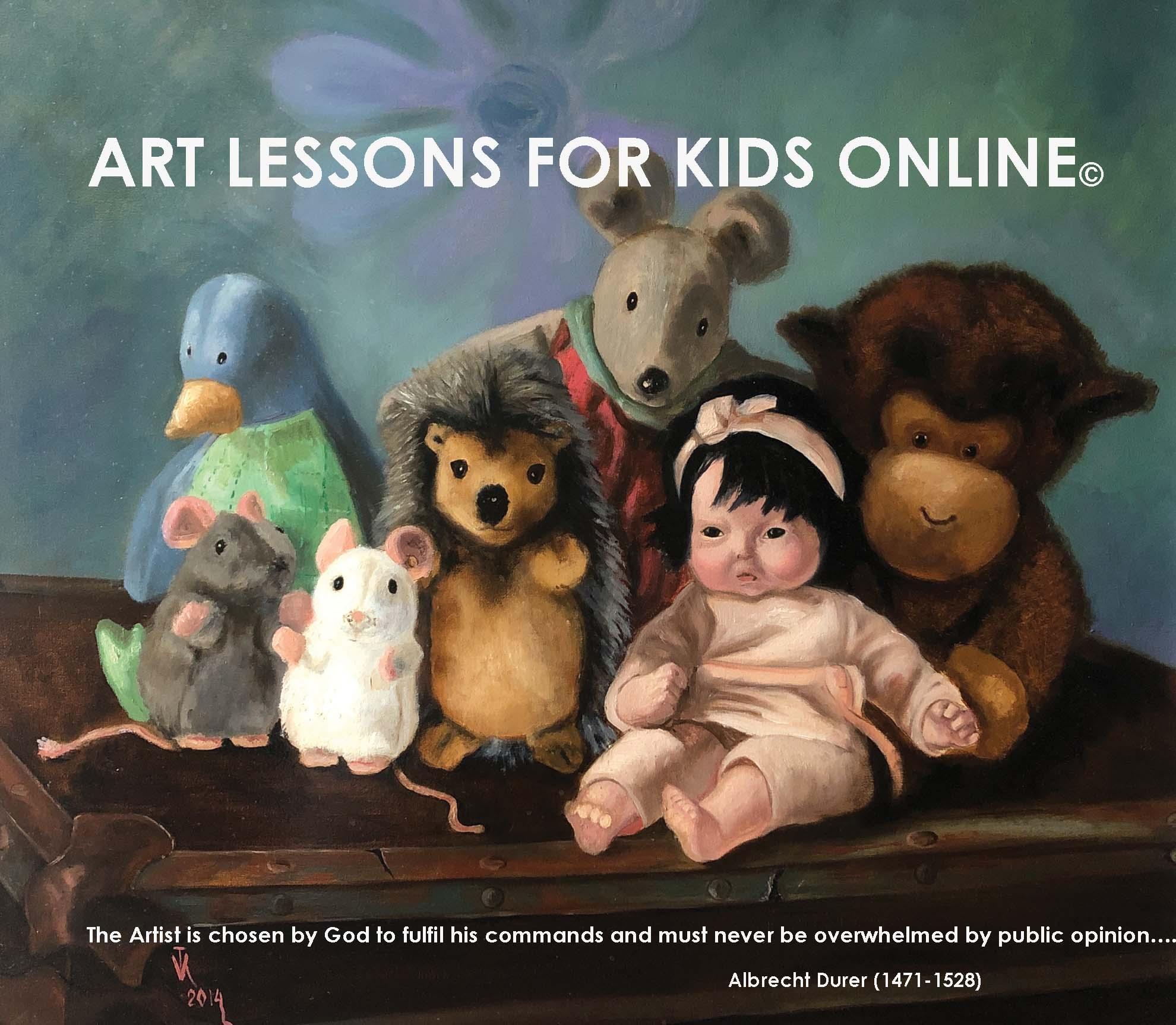Art Lessons for Kids Online